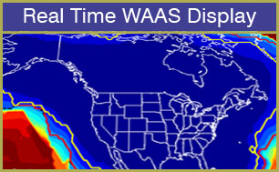 Real time WAAS Reporting