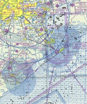 US Gulf Coast VFR Aeronautical Chart