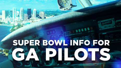 Akamai Netstorage: Super Bowl LV Flight Requirements for GA Pilots