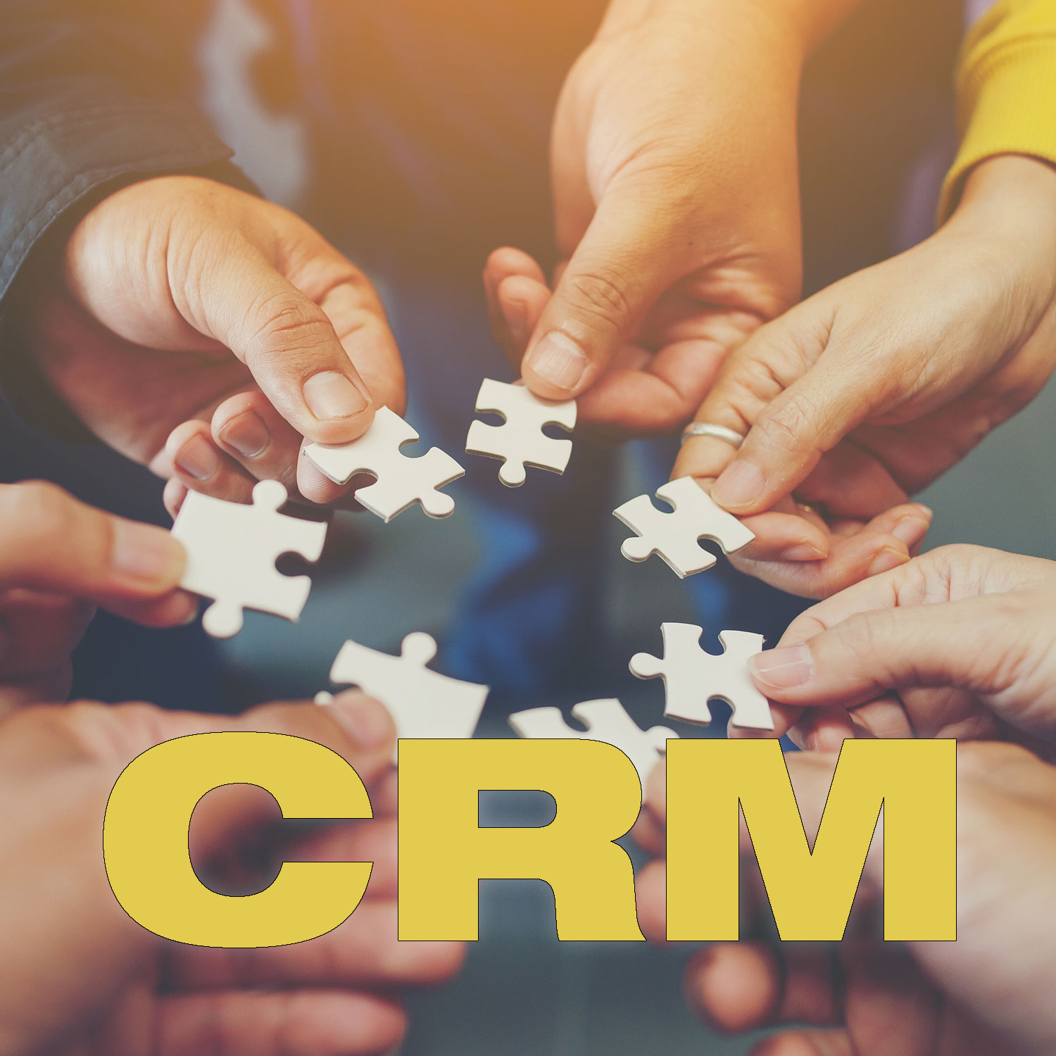 CRM: The Magic of Using All Available Resources (And the Misery of Trying to Go It Alone)