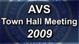 AVS November 2009 Town-hall Meeting