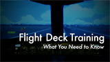 Flight Deck Training: What You Need to Know