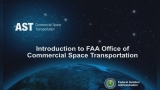 Introduction to Licensing Commercial Space Transportation Operations