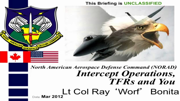 NORAD Interceptor Operations, TFRs, and You