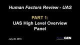 Human Factors (HF), Panel 1: Overview