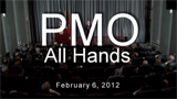 PMO All Hands Meeting