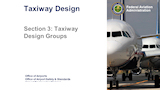 Taxiway Design Groups