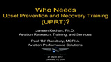 Upset Prevention and Recovery